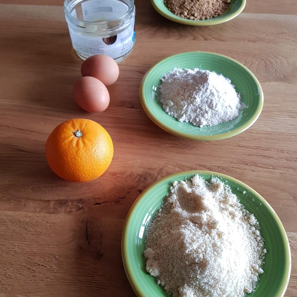 gâteau orange ingrédients